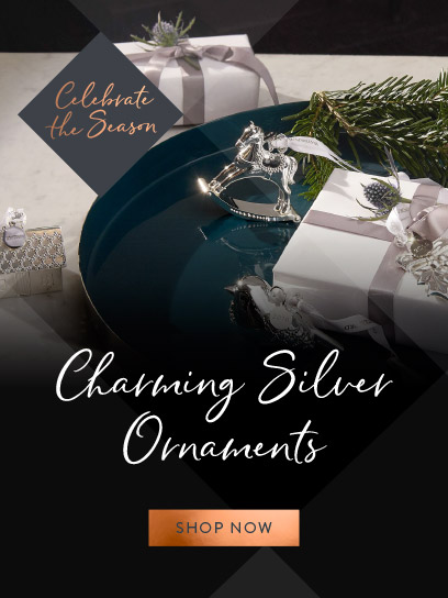 charming silver ornaments - mobile - november