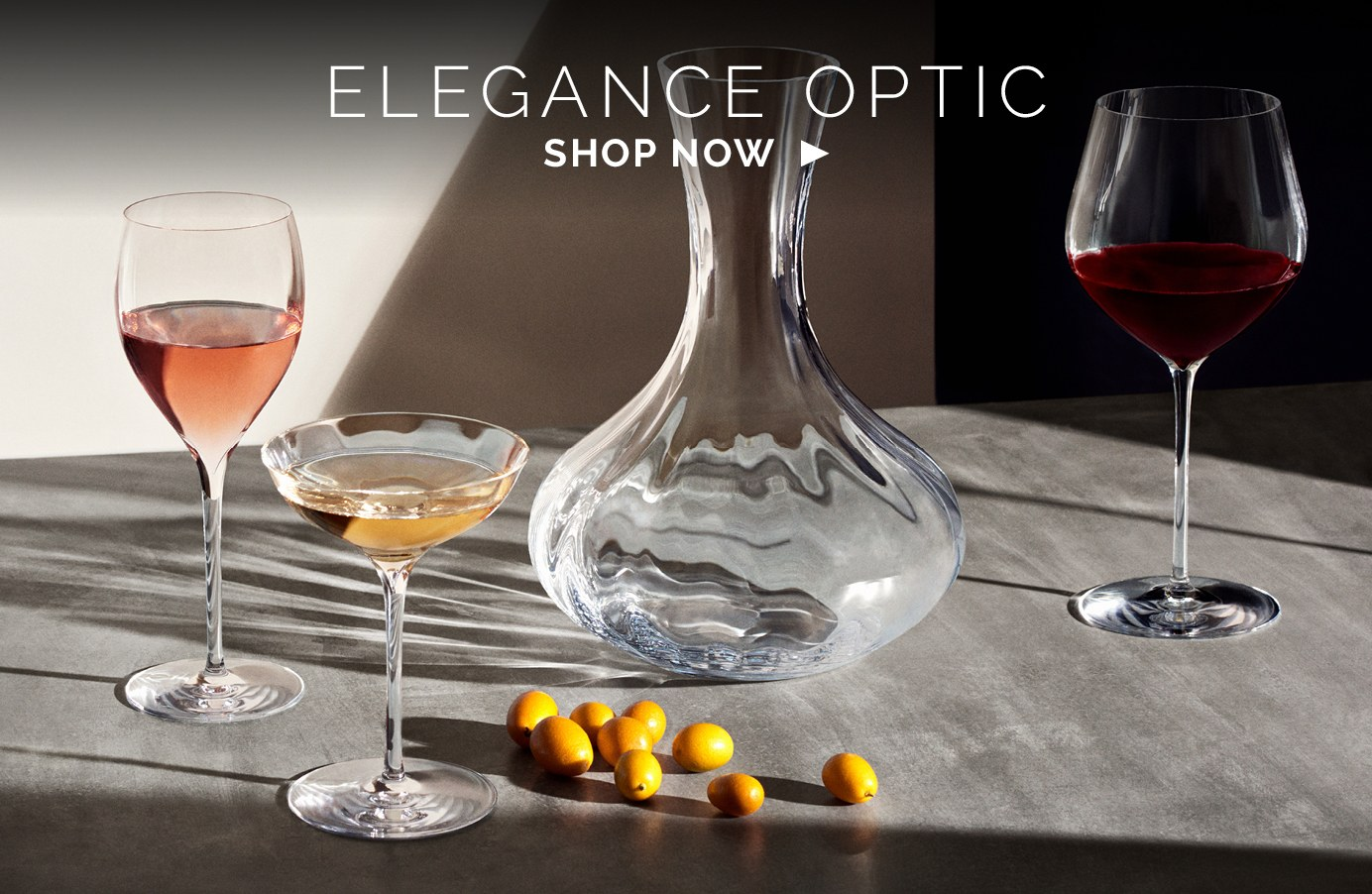 elegance optic stemware bottom left