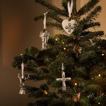 2019 Silver Cross Ornament