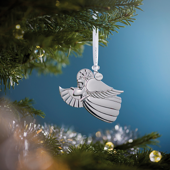 Angel Silver Ornament 2020