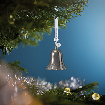 Bell Silver Ornament 2020