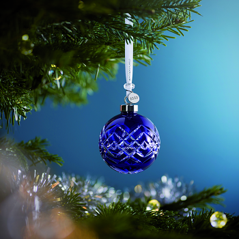Blue Crystal Bauble 2020
