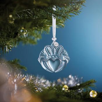 Claddagh Crystal Ornament 2020
