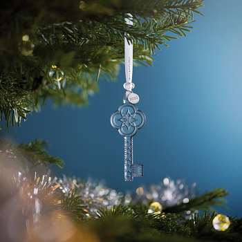 First Home Key Crystal Ornament 2020
