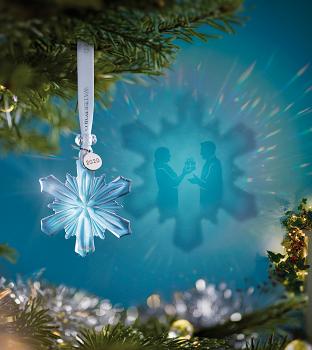 Mini Snowflake Crystal Ornament 2020
