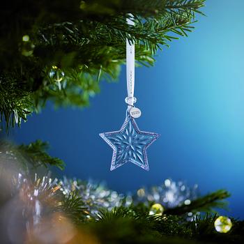 Mini Star Crystal Ornament 2020