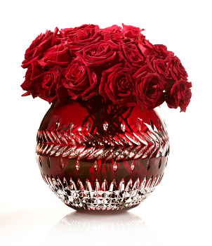 Fleurology by Jeff Leatham Meg Ruby Rose Bowl 30cm
