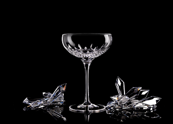 Lismore Essence Champagne Saucer Set of 4