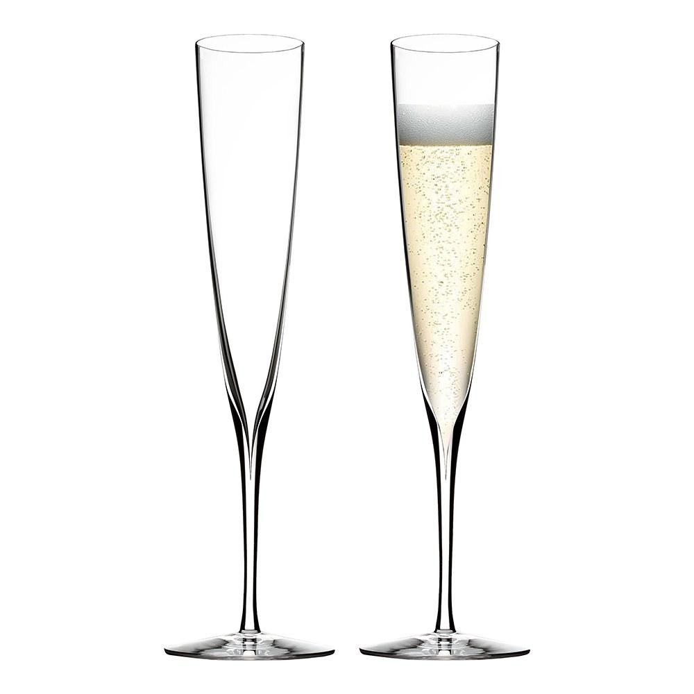 waterford crystal elegance champagne trumpet flute pair waterford crystal elegance champagne trumpet flute pair - Waterford Champagne Flutes