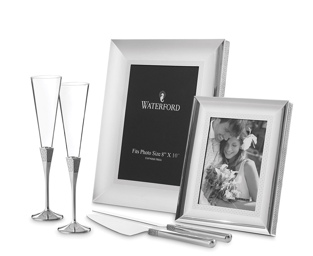 "Lismore Diamond Silver Frame 5 x 7"""