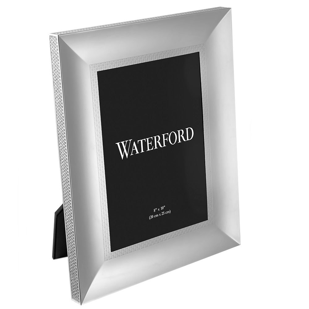 Waterford Crystal Lismore Diamond Silver Frame 8 x 10\