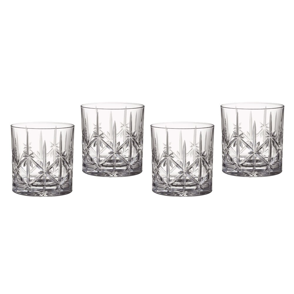 Set Waterford Old Fashioned Glasses