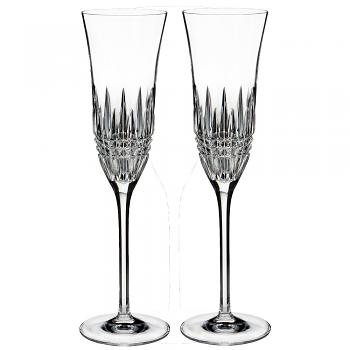 Lismore Diamond Essence Flute Pair