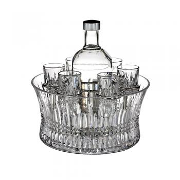 Lismore Diamond Vodka Set of 6 Shot Glasses