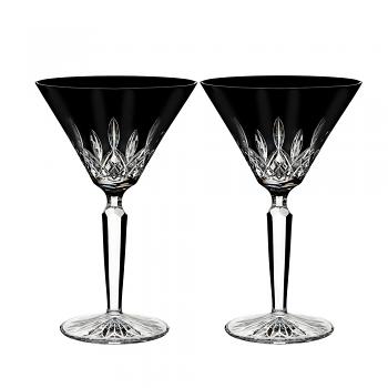 Lismore Black Cocktail Pair
