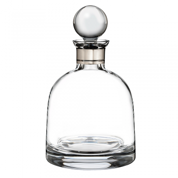 Elegance Short Decanter with Round Stopper