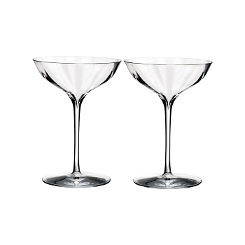 Elegance Optic Champagne Belle Coupe Pair