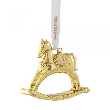Golden Rocking Horse