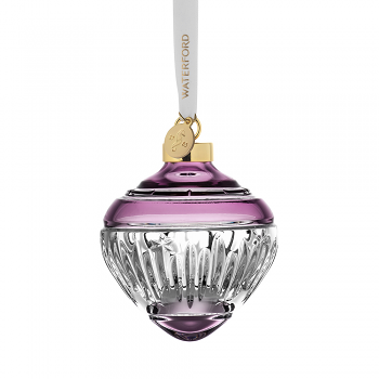 Winter Wonders Bauble Lilac Midnight Frost