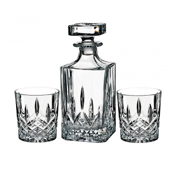 Marquis by Waterford Markham Decanter & DOF Set