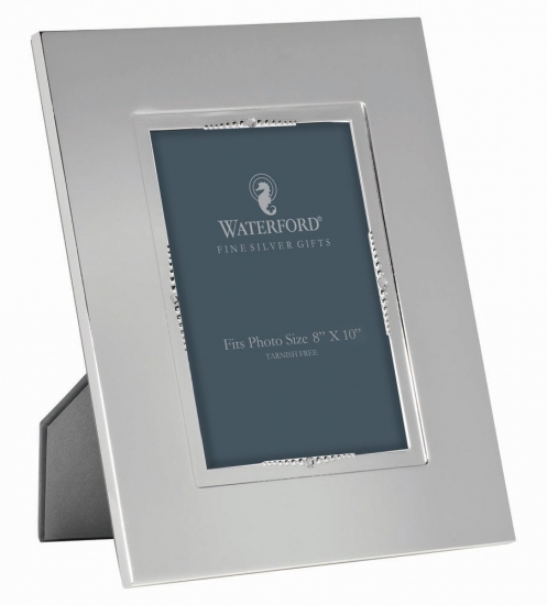 Waterford Crystal Lismore Bead Silver Frame 20x25cm Waterford Crystal