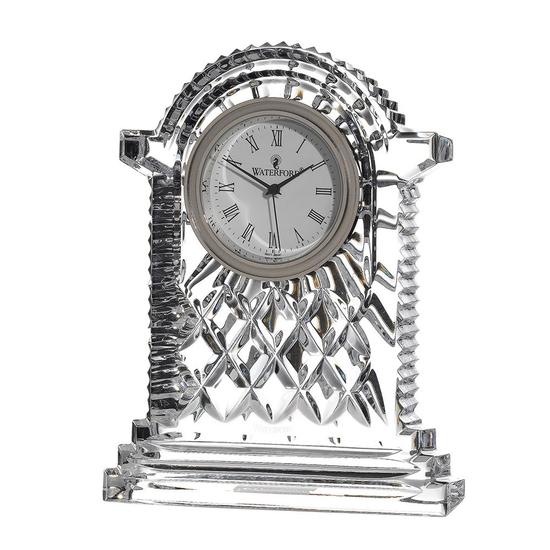 Waterford Crystal Clocks Large Carriage Clock 12cm Waterford Crystal