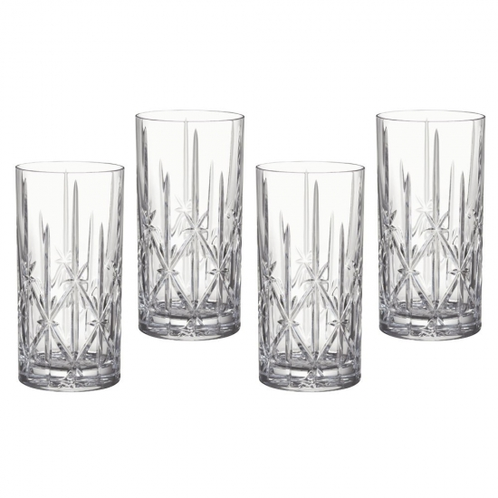 Marquis by Waterford Sparkle Hi Ball Set of 4