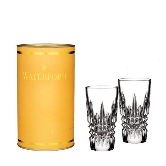 Giftology Lismore Diamond Shot Glass Pair