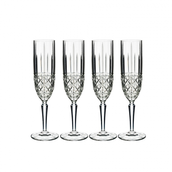 Marquis by Waterford Brady Flute Set 4