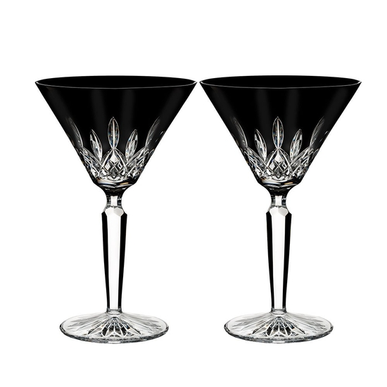 Lismore Black Cocktail Pair