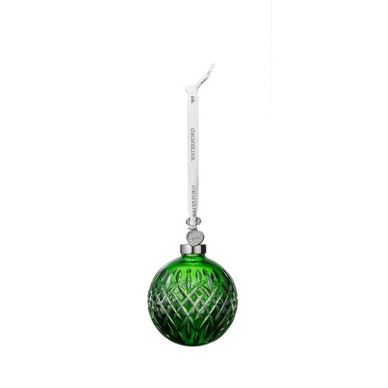 2019 Emerald Ball Ornament