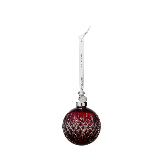 2019 Ruby Ball Ornament