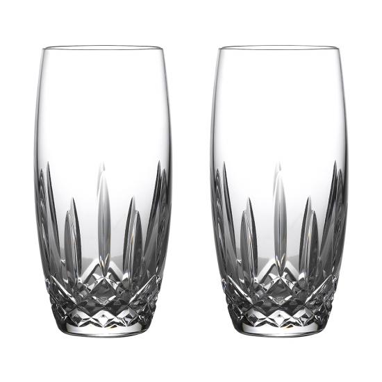 Lismore Nouveau Beer Glass Pair