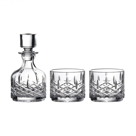 Marquis by Waterford Markham Stacking Decanter & Tumbler Set of 2